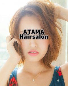 バンコクATAMAヘアーサロンのヘアーメイクヘアーセットの盛りイメージ