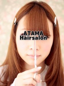 バンコクATAMAヘアーサロンの前髪カットイメージ